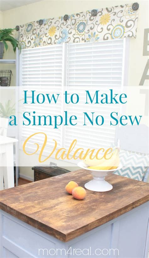 how to make simple curtains without a sewing machine best 25 box valance ideas on pinterest window valance