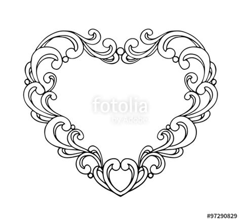 design pattern registry quot vector of greeting or wedding card with white paper heart