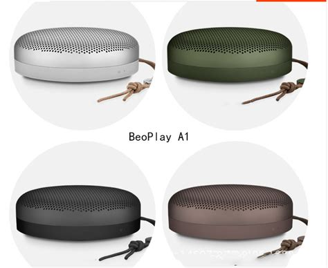 Olufsen Bluetooth Speaker Beoplay A1 Tangerine b o play a1 ultra portable speaker