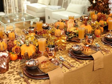 Thanksgiving Table Ideas 20 Thanksgiving Celebration Ideas