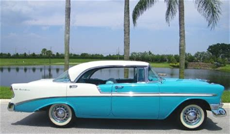 1956 Chevrolet 4 Door Hardtop For Sale by 1950 To 1959 Classic Chevrolet Cars And Trucks 1956