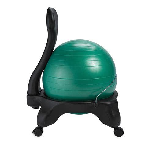 amazoncom gaiam balance ball chair replacement ball cm ocean blue sports outdoors