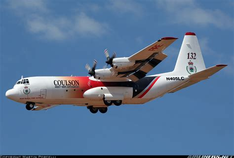 coulson flying tankers lynden air cargo lockheed l 100 30 hercules l 382g n405lc 132 cn