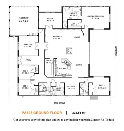 u shaped home with unique floor plan u shaped house i would convert the bedroom the entryway into a dining room the media room