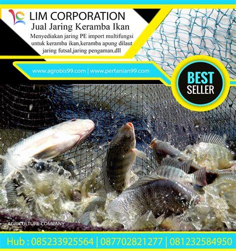Jaring Ikan 1 1 jual jaring ikan pe keramba apung harga murah sidoarjo
