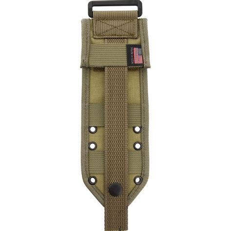 molle sheath es42mbk esee 5 molle back knife sheath khaki