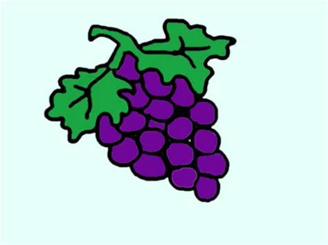 imagenes infantiles uvas dibujos de uvas para ni 241 os imagui