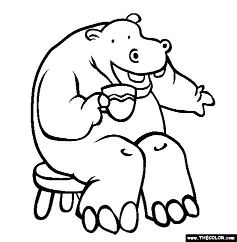 hungry hungry hippos coloring page 94 sweet hippo coloring pages image 1 skydiving