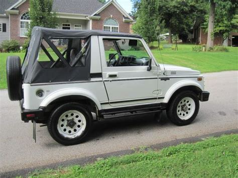 how to learn all about cars 1988 suzuki swift security system sell used 1988 suzuki samurai 4x4 5 speed original suzuki in good shape in greenville south