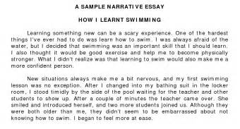 Narrative Essay On by Help On Narrative Essay