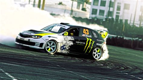 subaru wrx drift car wallpaper subaru impreza wrx ken block drift smoke