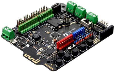 Ble Link Bluetooth Df Robot dfrobot romeo ble all in one microcontroller atmega 328