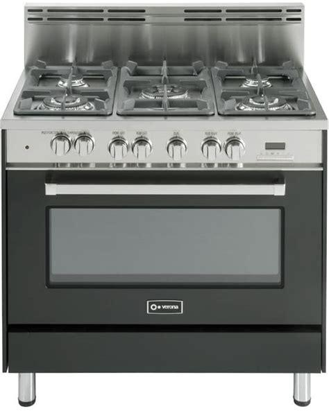 Microwave Verona verona vefsge365 36 inch pro style dual fuel range with 5