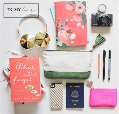 In Our Bag by What S In Bag What To Pack In Your Travel Bag