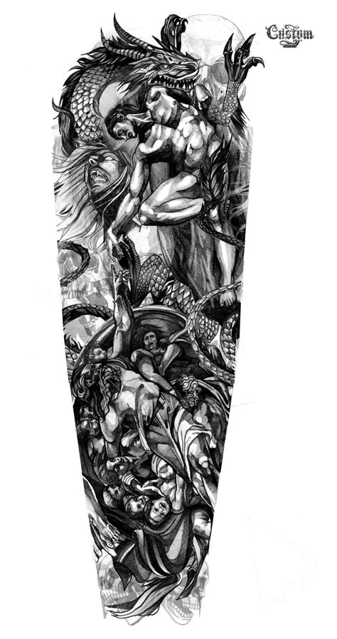 custom sleeve tattoo designs 143 best images about designs on