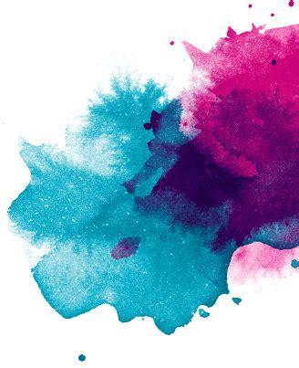 transparent watercolor texture side paint splatter transparent png stickpng