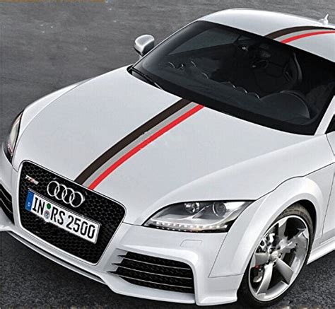 Audi Decals by 50 Quot Audi Sports Racing Stripe Vinyl Car Stickers Decal For