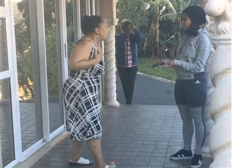 Woolworths Home Decor video minnie dlamini gives emotional mother a brand new