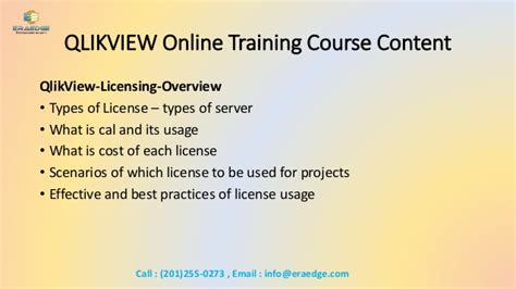 qlikview admin tutorial qlikview online training overview course content