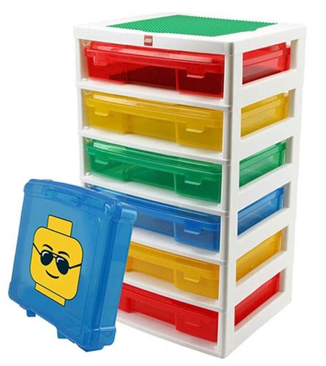 this workstation corrals your legos and encourages play - Lego Storage Container