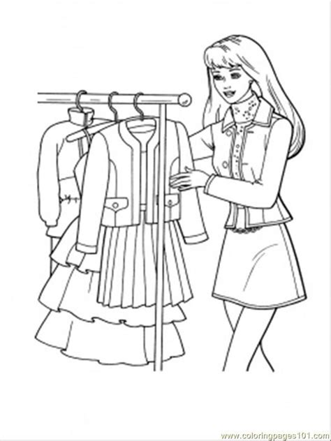 woman shopping colouring pages coloring home