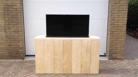 Kast Voeteneind Bed by Bed Tv Meubel Met Lift