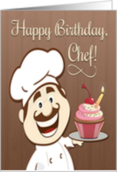 Chef Birthday Card