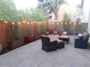 Small Backyard Ideas Before After Top 25 Best Concrete Backyard Ideas On