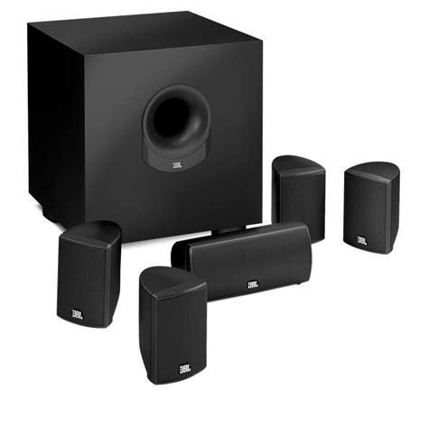 jbl scsbk   piece home cinema speaker system
