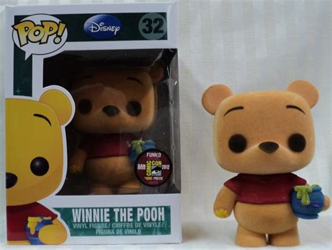 Funko Pop Original Winnie The Pooh Winnie The Pooh Flocked pop disney winnie the pooh flocked funko pop