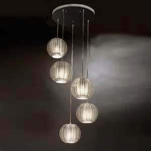 Multi Pendant Lighting Shop Trend Lighting 80 In Satin Silver Multi Pendant Light At Lowes