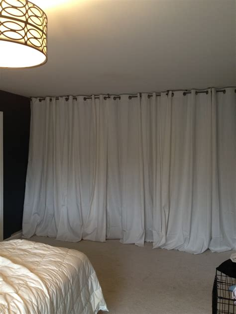 diy curtain room divider 20 diy room dividers to help utilize every inch of your home