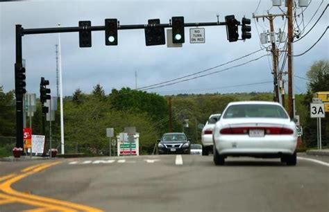 A Traffic Light Shifts The Boston Globe