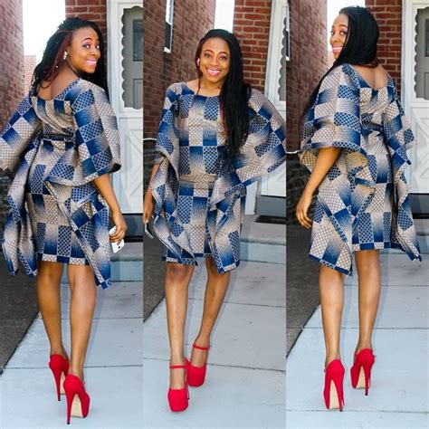 simple ankara styles short gown debonke house of fashion dress styles for short women luxury blue dress styles