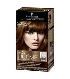is schwarzkopf cinnamon brown brown hairs