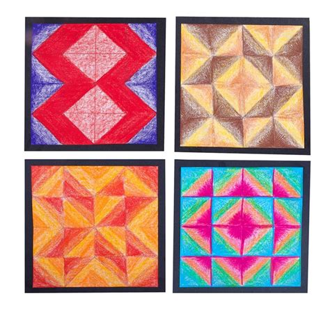 quilt pattern art lessons geometric quilt blocks crayola com