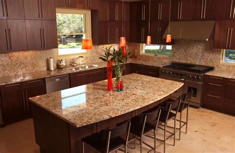 Kitchen Granite Countertops Ideas wonderfull kitchen countertops and backsplash ideas