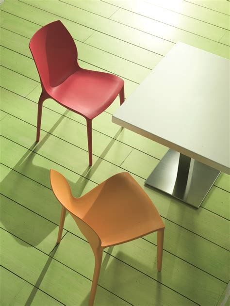 bontempi camerano hidra polypropylene chair by bontempi casa