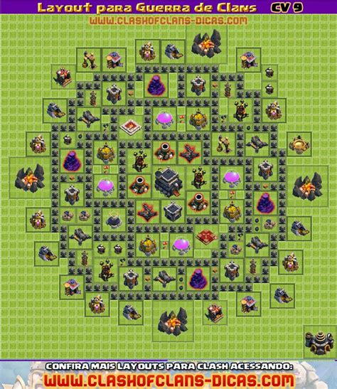 video de layout cv 5 layouts cv9 para a guerra de clans clash of clans dicas