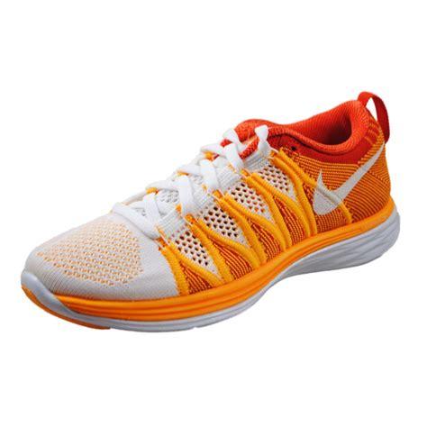 orange womens nike shoes nike womens flyknit lunar2 orange running shoes 620658 101