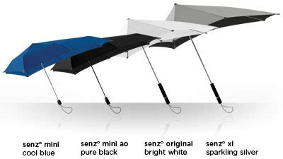 The Nanonuno Umbrella by 擁有空氣動力學的senz雨傘 Not My Business