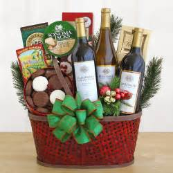 christmas wine gift baskets free shipping navis