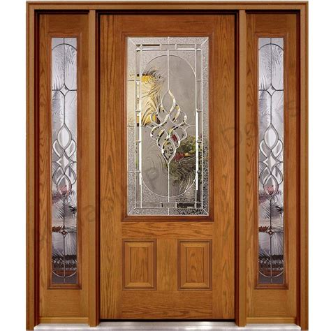 ash wood glass panel door hpd glass panel doors al