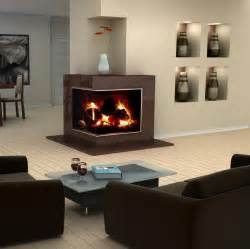Modern Corner Fireplaces by 25 Stunning Fireplace Ideas To