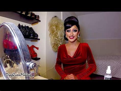 Drag Detox Uses A Fan As Step Stool by Drag Makeup Tutorial Theprinceofvanity