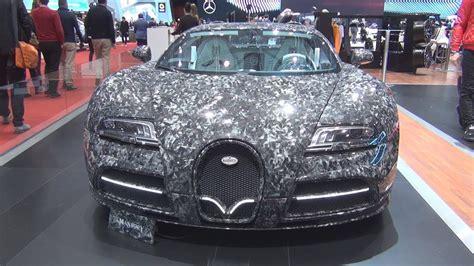 bugatti veyron vivere diamond edition mansory 2018