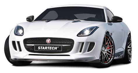 jaguar car png white startech jaguar f type coupe sports car png image