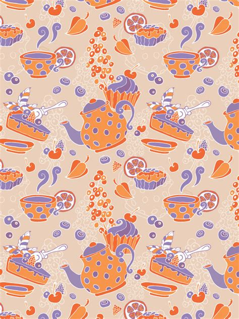 pattern illustrator tutorial create a tea party seamless pattern from a sketch in adobe