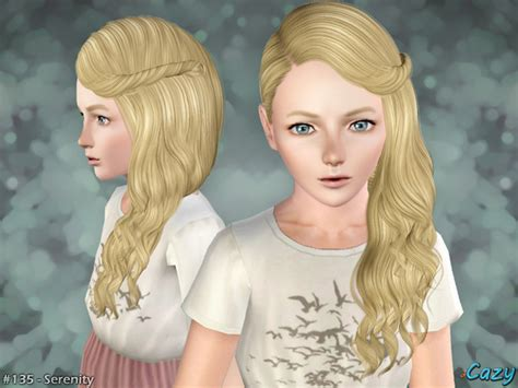 kids hair sims 4 hairstyle gallery cazy s serenity hairstyle set