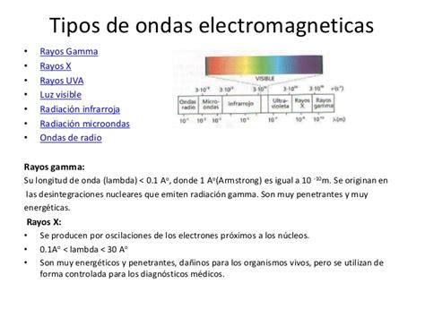 Ejemplos De Ondas Electromagneticas | presentacion de ondas electromagneticas
